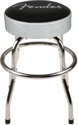 Fender Silver Sparkle Bar Stool