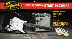 AFFINITY SERIES STRAT & FRONTMAN AMP PACK