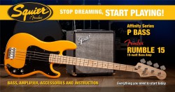 Affinity P Bass & Rumble 15 Amp