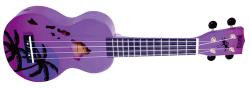 Mahalo MD1HA Hawaii Soprano Uke - Purple